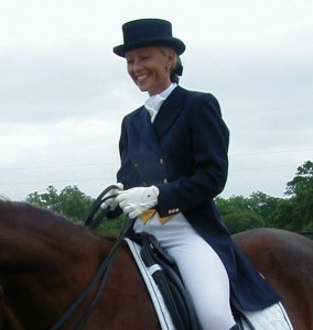 FEI rider and trainer Joan Myrthue